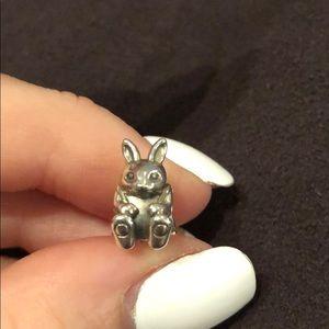 Bunny Rabbit Pandora Charm